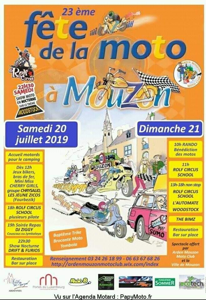 MANIFESTATION - Fete de la Moto - 20 & 21 Juillet 2019 - Mouzon (16310) 23e-fz10