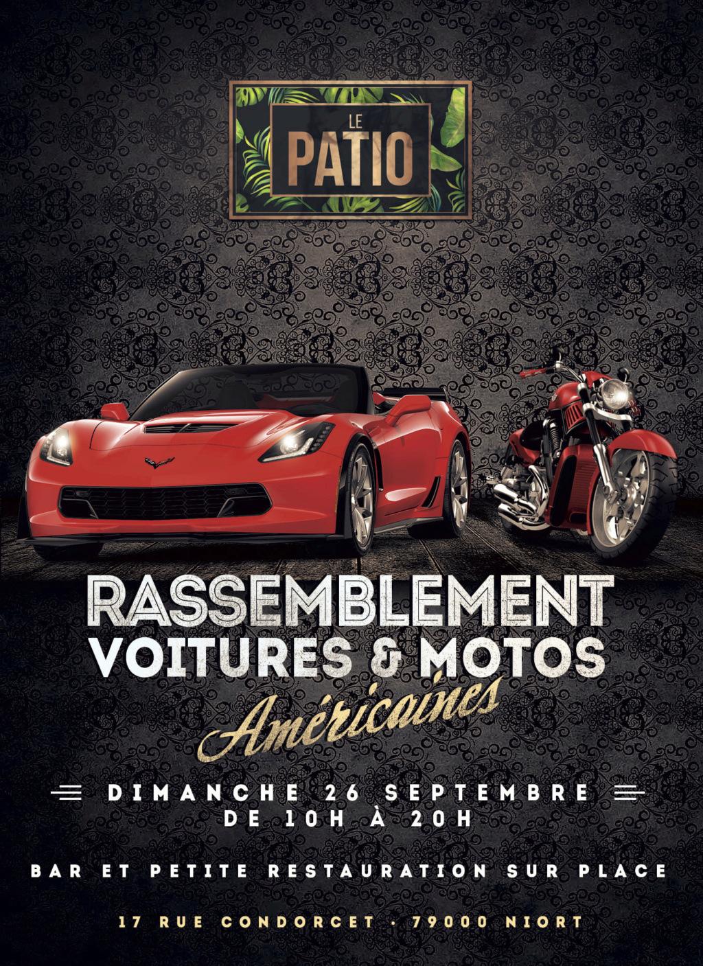 MANIFESTATION - Rassemblement - Voitures & Motos - Dimanche 26 Septembre 2021 - Niort (79000)  24111210