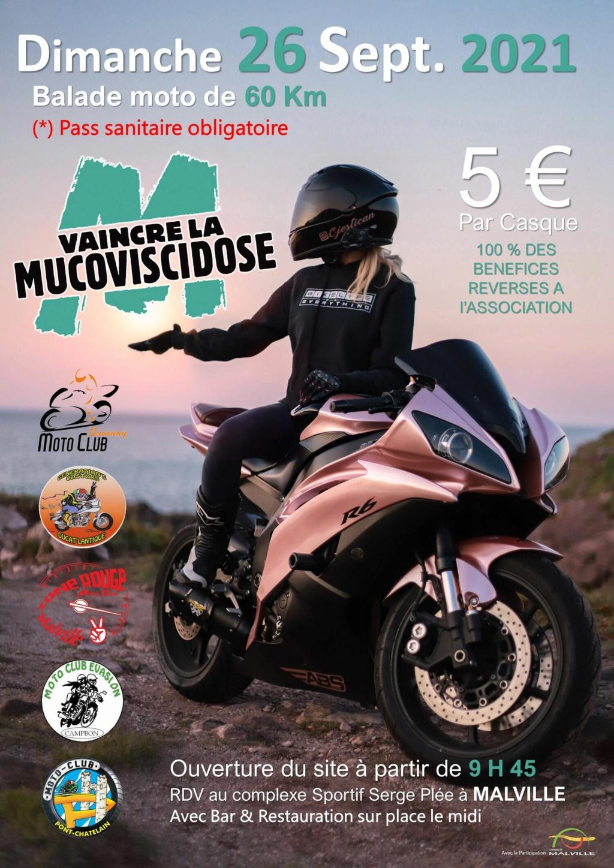 MANIFESTATION - Balade Moto - Dimanche 26 Septembre 2021 - Malville  24124010