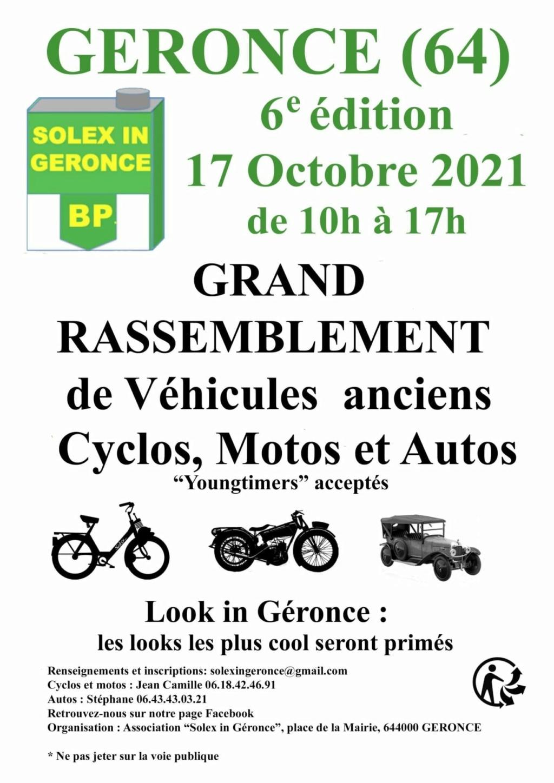 MANIFESTATION - Rassemblement - 17 Octobre 2021 - GERONCE (64) 24163810