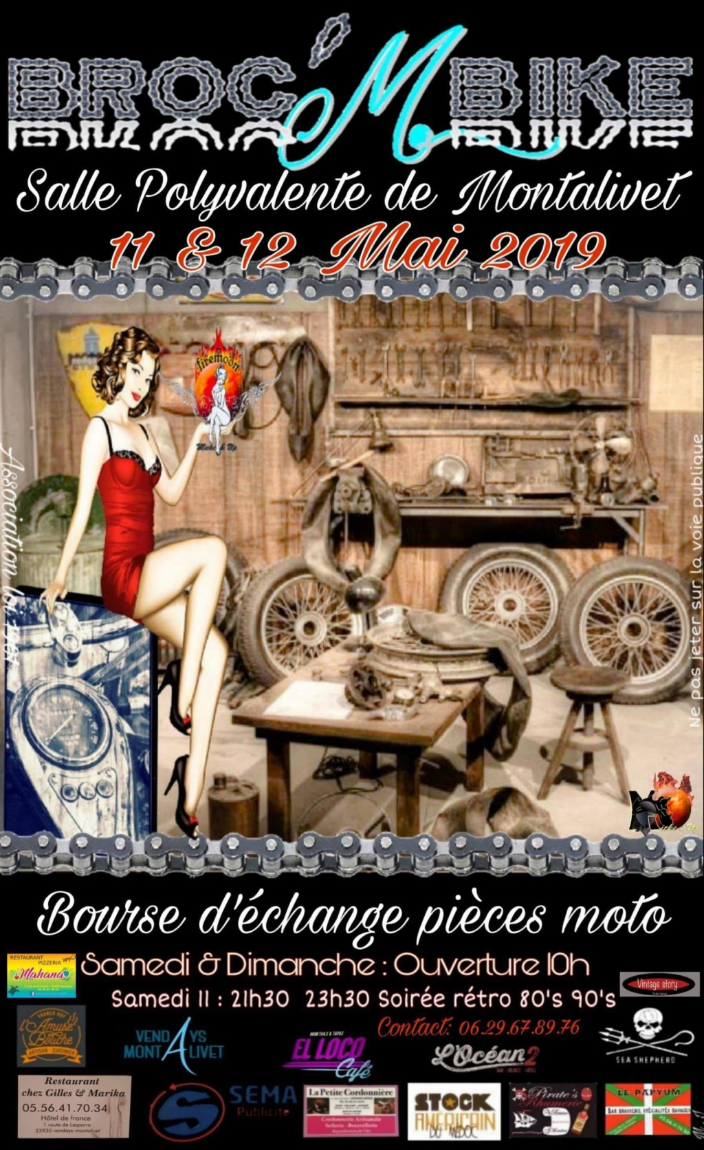 Broc ' M BIKE - 11 & 12 Mai - Salle Polyvalente de Montalivet  243_1510