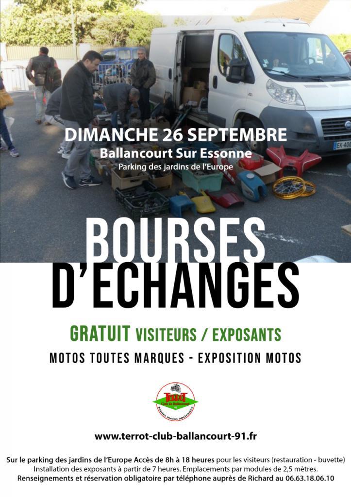 MANIFESTATION - Bourses d'échanges -Dimanche 26 Seeptembre 2021 - Ballancourt sur Essonne  (91) 2ceccf10
