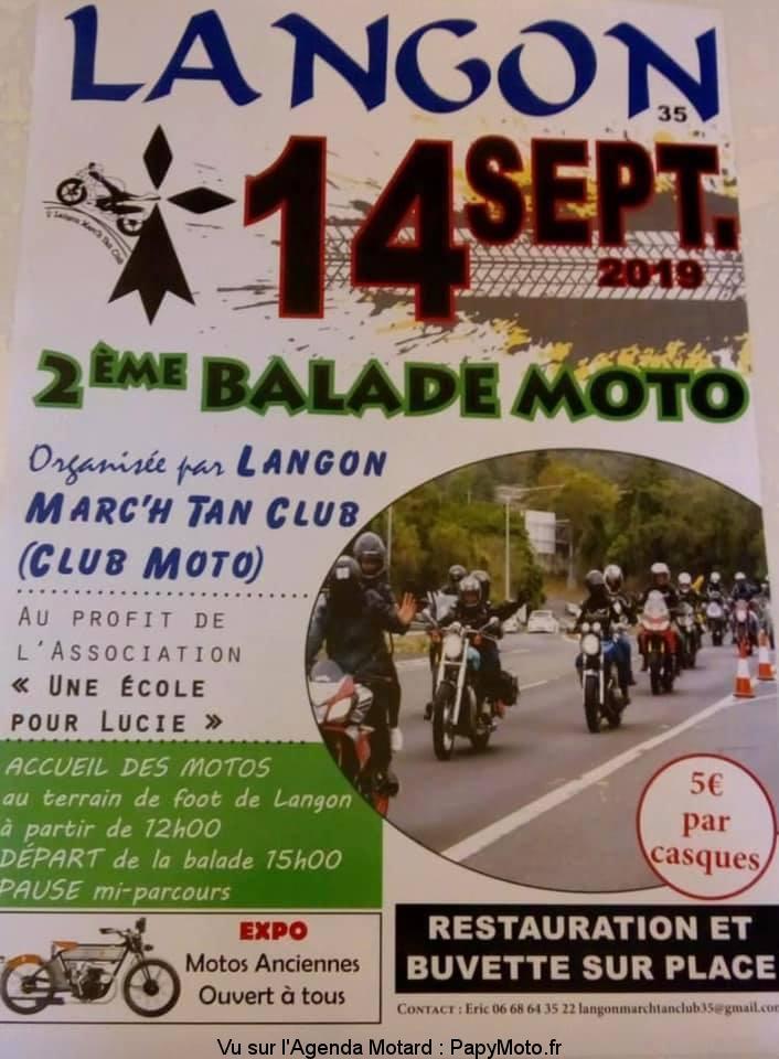MANIFESTATION - Balade Moto -14 Septembre 2019 - Langon (35) 2e-bal15