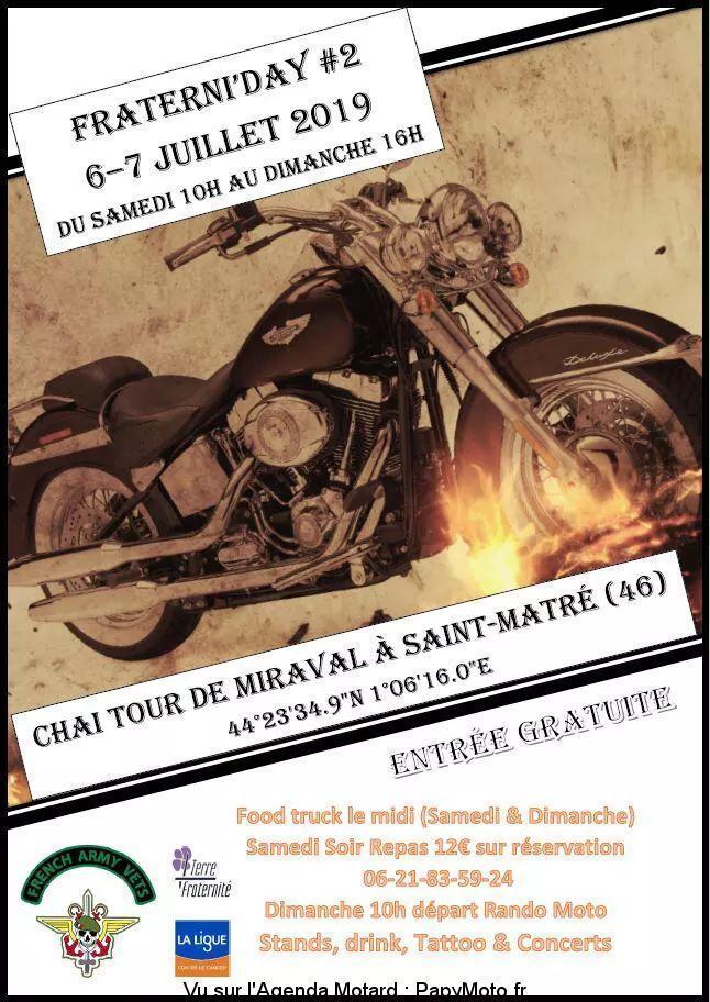MANIFESTATION - Fraterni'day 2 - 6&7 Juillet 2019 - Saint -Matré (46) 2e-fra11