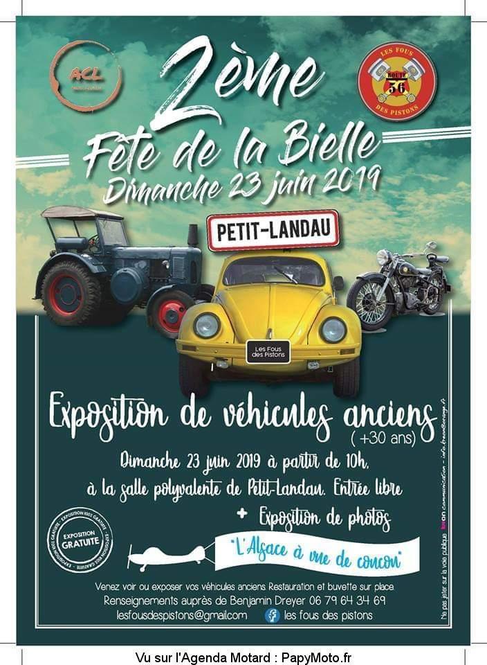 MANIFESTATION - Fete de la Bielle - Dimanche 23 Juin 2019 - Petit -Landau 2e-fzo13