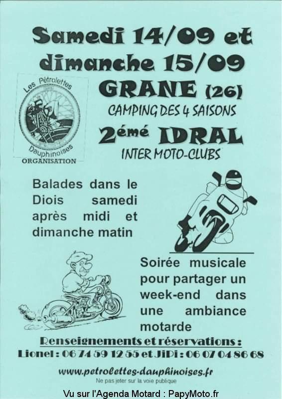 MANIFESTATION - Balades - Samedi 14 & Dimanche 15 Septembre 2019 -Grane (26) 2e-idr10