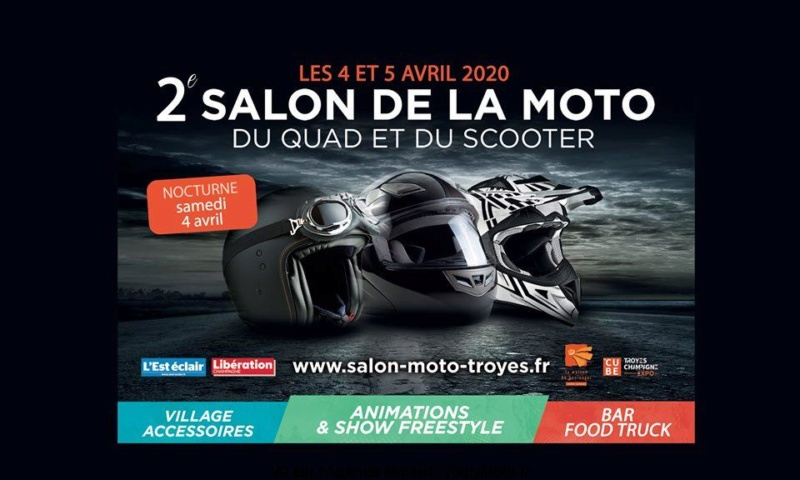 MANIFESTATION - 2ème Salon de La Moto - 4 & 5 Avril 2020 - Troyes  2e-sal13