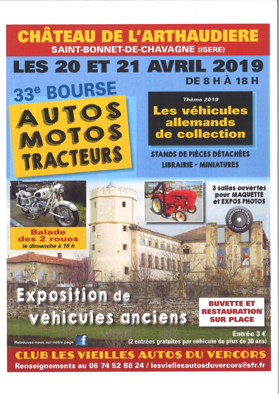 Bourse - 20 & 21 Avril 2019  -  Saint - Bonnet - De - Chavagne  ( ISERE ) 32633410