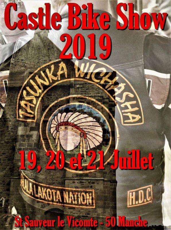 MANIFESTATION - Castle Bike Show - 19-20-&21 Juillet 2019 - Saint Sauveur le Vicomte - (50 Manche) 33187910