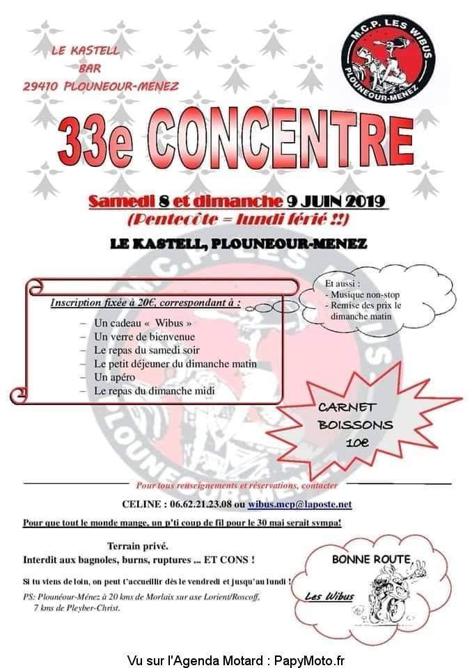 MANIFESTATION - Concentre - Samedi 8 & Dimanche 9 Juin 2019 - PLOUNEOUR-MENEZ (29) 33e-co10