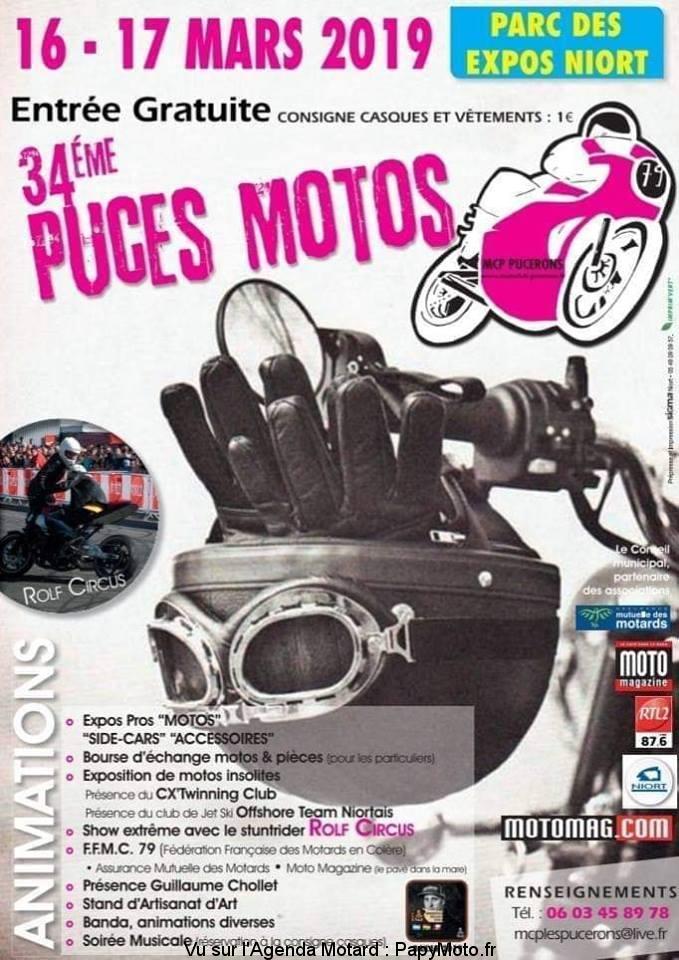 Puces Motos - 16 & 17 mars - Parc des Expo - NIORT  34e-pu10