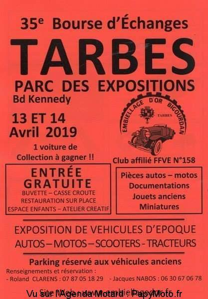 Bourse -  13 & 14 Avril 2019 - Parc des Expo - Tarbes  35e-bo10