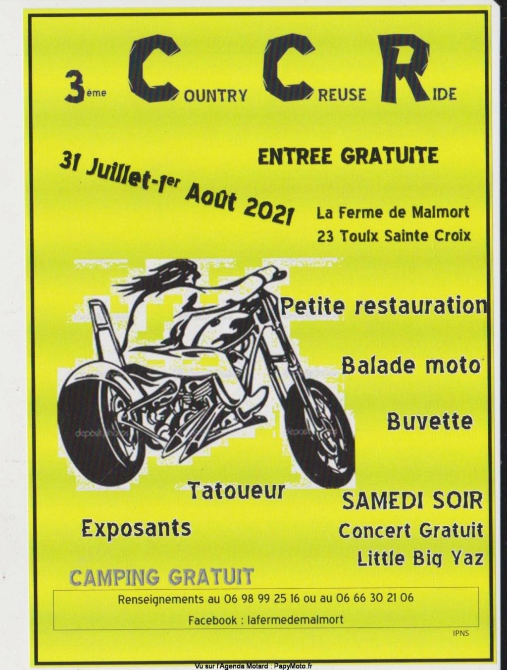 MANIFESTATION - 3éme Country Creuse Ride - 31 Juillet & 1er Aout 2021 - Toulx Saint Croix (23) 3e-cou10
