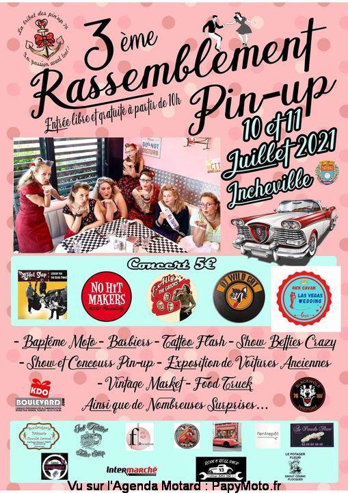 MANIFESTATION - 3eme Rassemblement Pin-Up 10 & 11 Juillet 2021 Incheville 3e-ras11