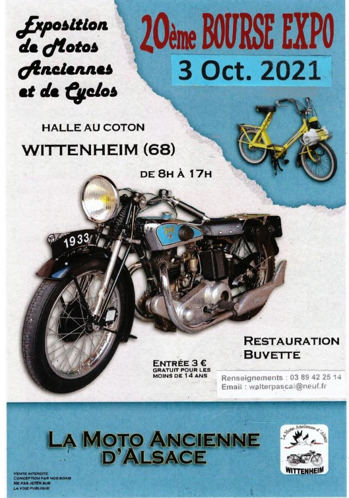 MANIFESTATION - 20ème Bourse Expo - 3 Octobre 2021 - Wittenheim - (68) 3ebfa410