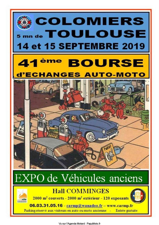 MANIFESTATION - Bourse D'échanges -14 & 15 Septembre 2019 - Colomiers 41e-bo10