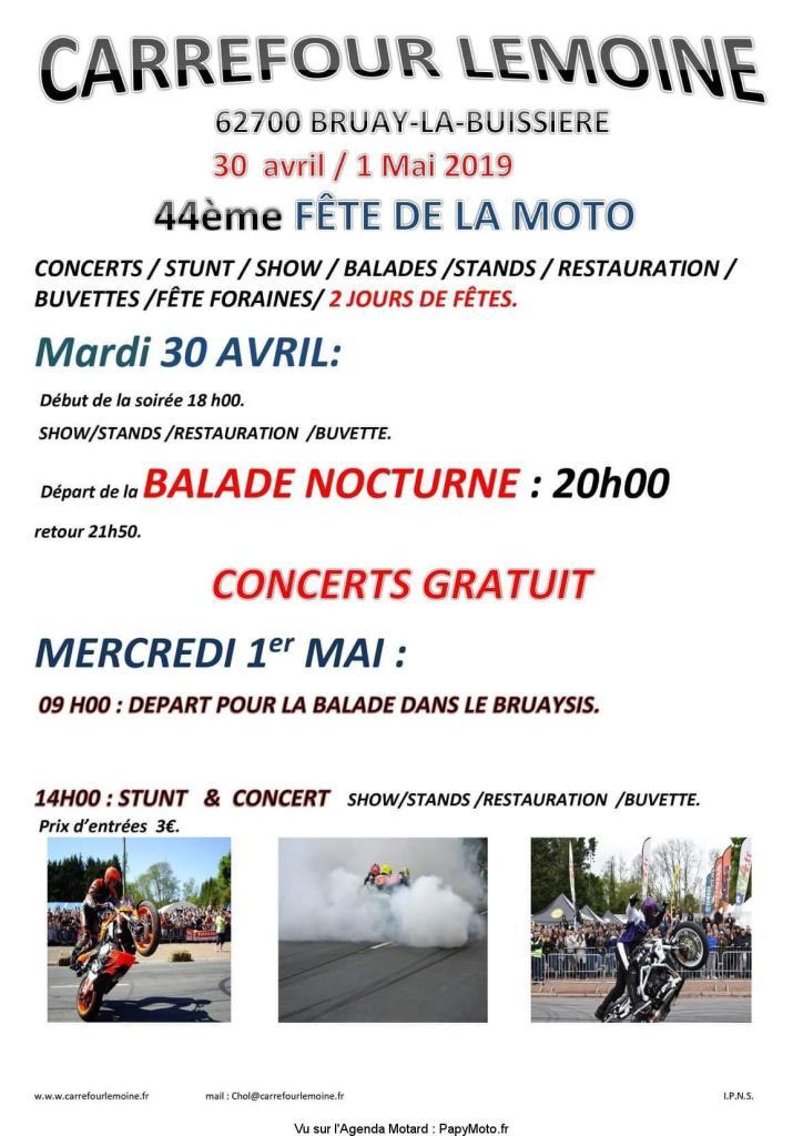 Fete de la Moto - 30 Avril / 1er Mai - Bruay- La - Buissiere(62700) 44e-fz10
