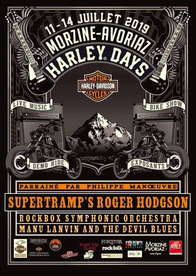 MANIFESTATION - Harley Days - 11 - 14 Juillet 2019 - Morzine - Avoriaz 49549210