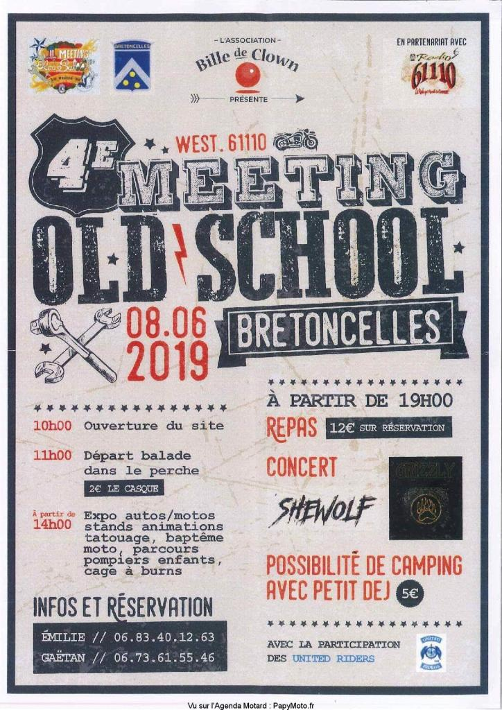 MANIFESTATION - Meeting Old School - 8 Juin 2019 - Bretoncelles (61) 4e-mee11