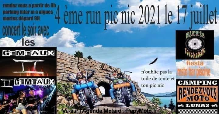 MANIFESTATION - 4 éme Run Pic Nic - 17 Juillet 2021 - Aigues Mortes (30) 4e-run12