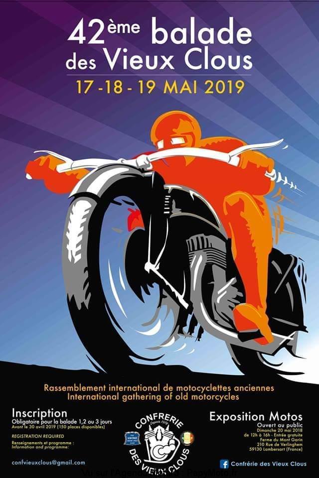 Balade des Vieux Clous - 17 - 18 - & 19 Mai 2019 - Lambersart (59130) 4zo-ba11