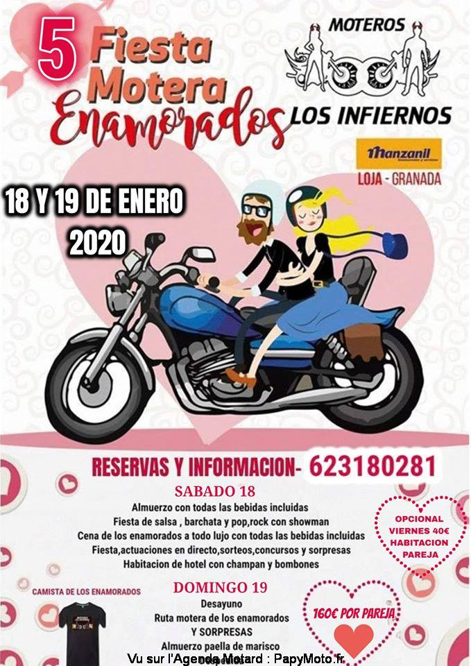 MANIFESTATION - Fiesta Motera - 18 & 19 Janvier 2020 - Loja - Granada ( Espagne ) 5-fies10