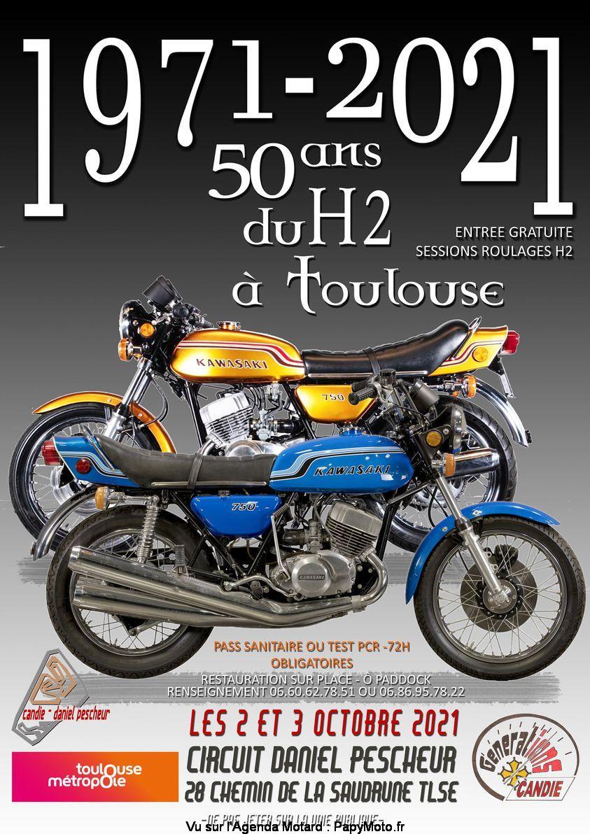 MANIFESTATION - 1971 - 2021  50 Ans du H2a Toulouse - 2 & 3 Octobre 2021 - Toulouse   50-ans11