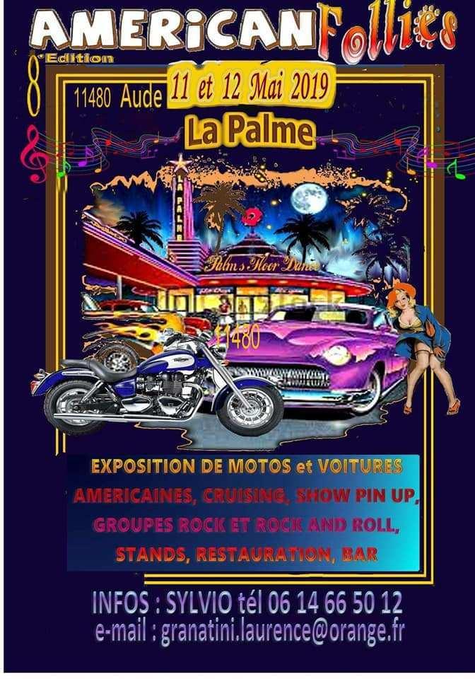 Américan Follies - 11 & 12 Mai 2019 - La Palme - Aude (11480) 50343410