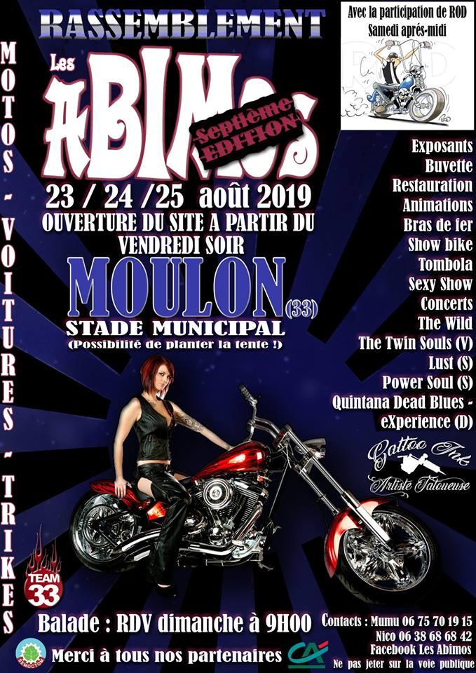 MANIFESTATION - Rassemblement - 23-24-25 Aout 2019 - Moulon (33) 52179311