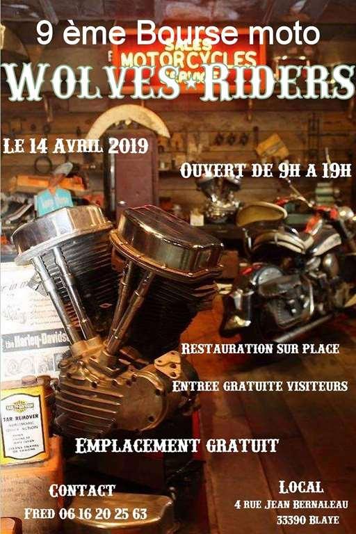 Bourse Moto - Dimanche 14 Avril 2019 - BLAYE - (33390) 52370710