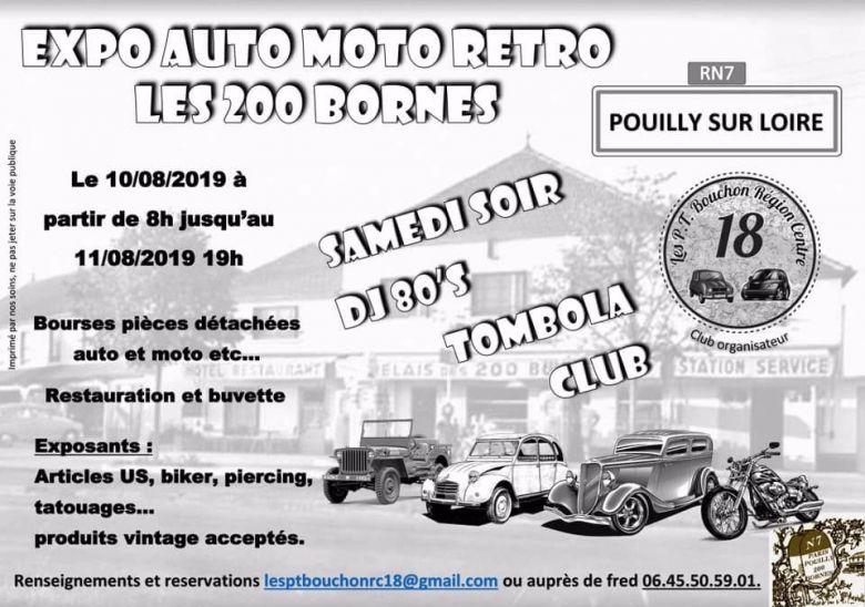 MANIFESTATION - Expo Auto Moto Rétro - 10 & 11 AOUT 2019  - Pouilly Sur Loire  52586410