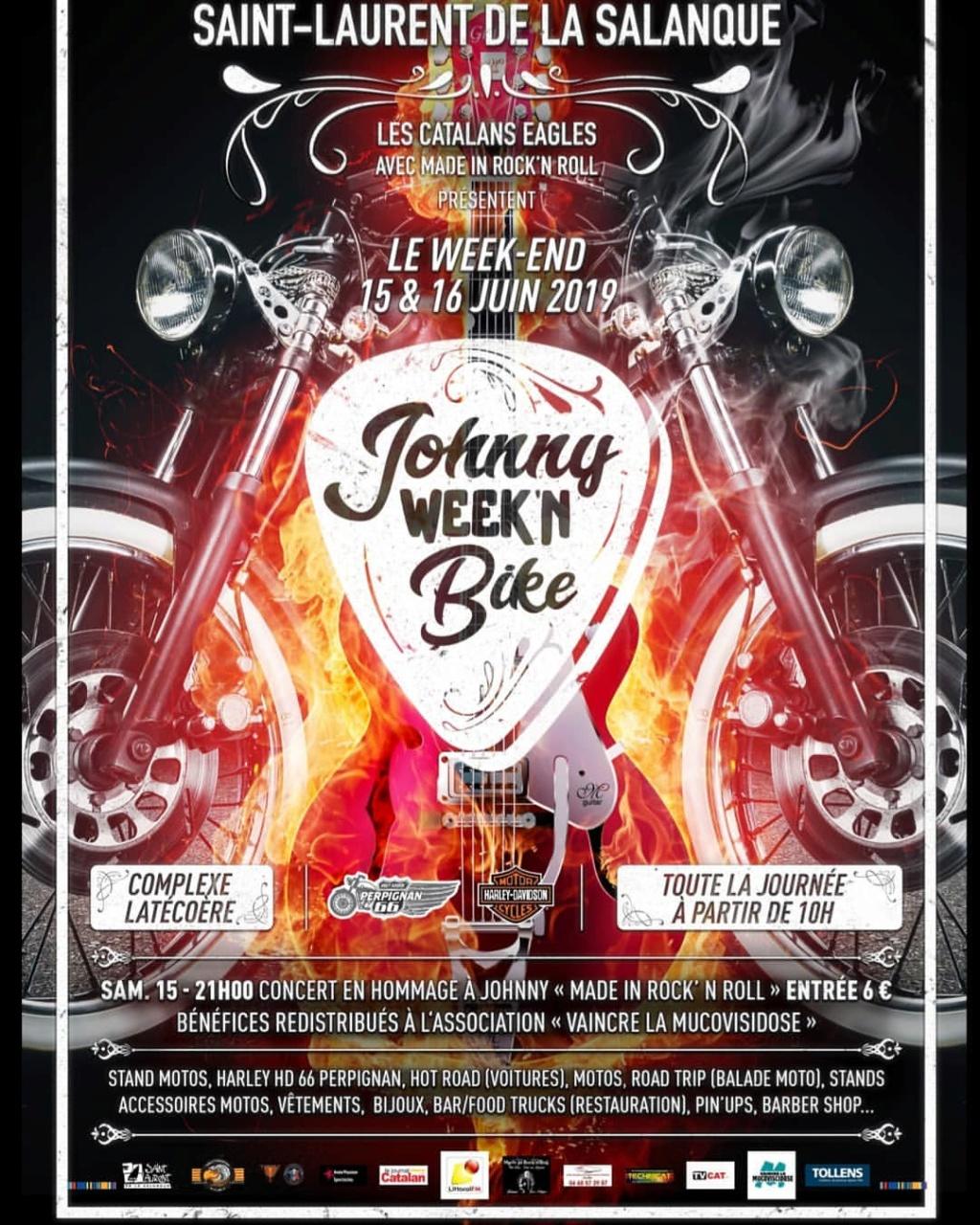 MANIFESTATION - Johnny Week'N Bike - 15 & 16 Juin 2019 - Saint - Laurent De La Salanque  53790510