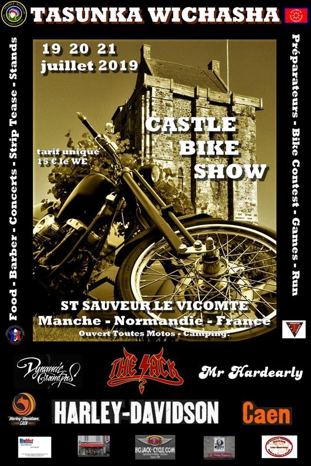 MANIFESTATION - Castle Bike Show - 19 - 20 - & 21 Juillet 2019 - St Sauveur Le Vicomte  53908210