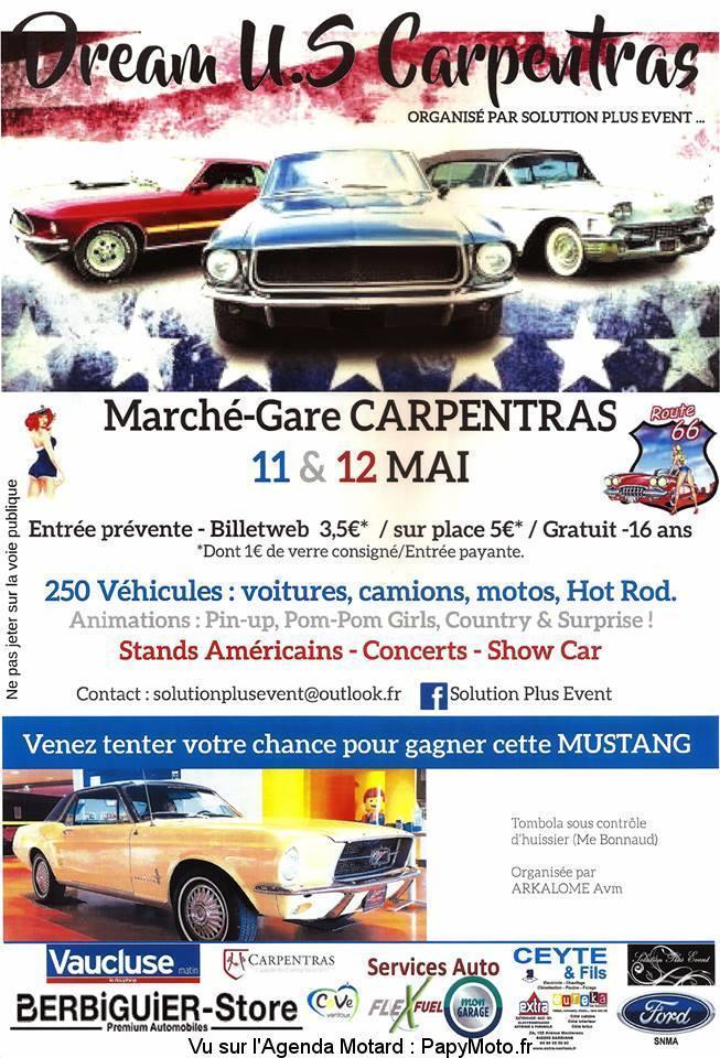 Dream U.S - Carpentras - 11 & 12 Mai 2019 - Carpentras (84) 54353410