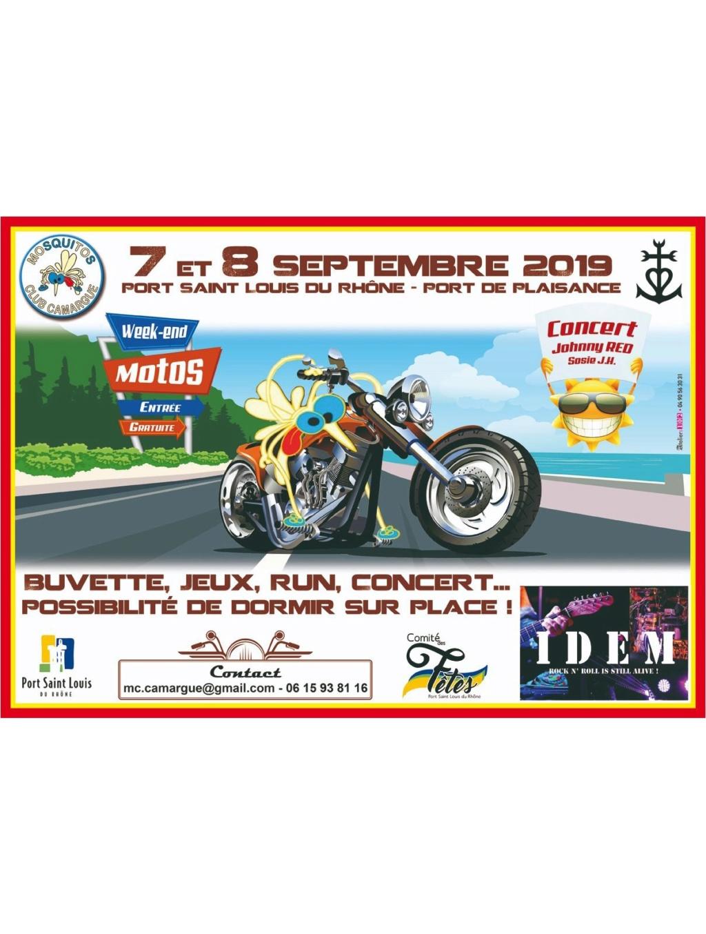MANIFESTATION - Week-End Motos -7 & 8 Septembre 2019 - Port Saint Louis du Rhone  5c2e6312