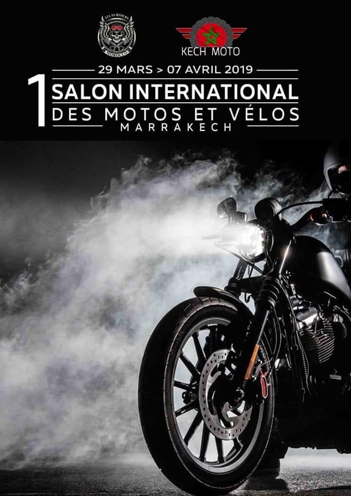 Salon International Moto - 29 Mars au 07 Avril 2019 -Marrakech - (40000) - Maroc  5c864a10