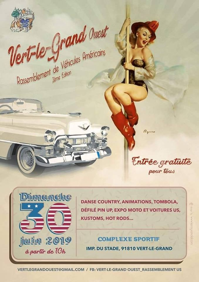 MANIFESTATION - Rassemblement - Dimanche 30 Mai 2019 - Vert - Le - Grand - ( 91810) 5cc17013