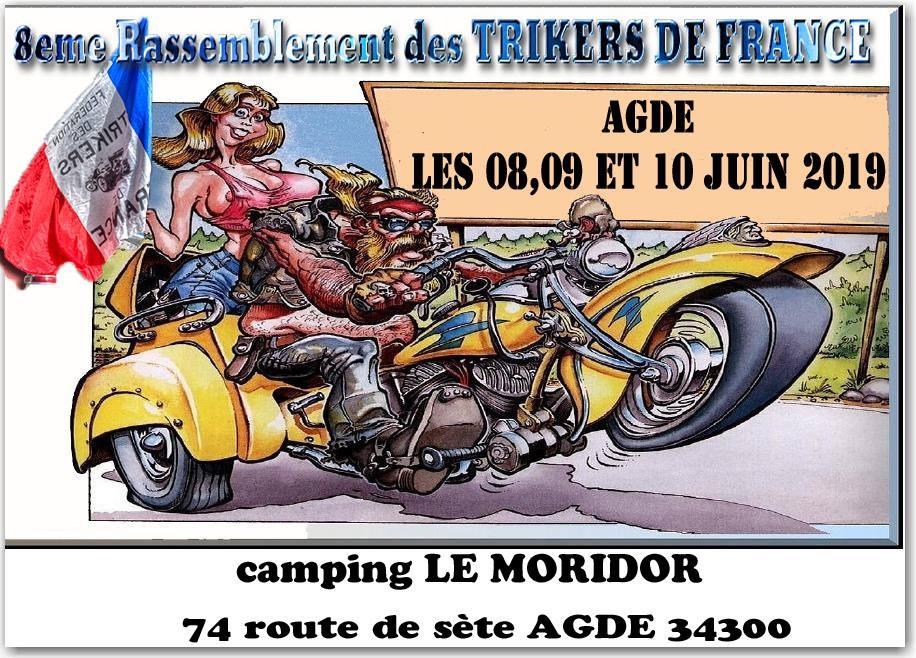 MANIFESTATION - Rassemblement - 8 -9 - & 10 Juin 2019 - AGDE (34300) 5cf00410