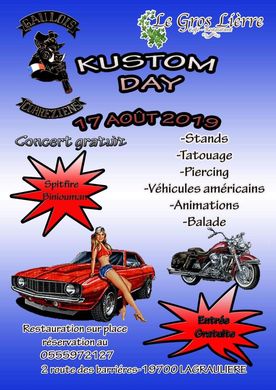 MANIFESTATION - Kustom Day - 17 Aout 2019 - Lagrauliere (19700) 5cf7f611