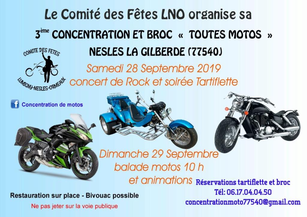 MANIFESTATION - Concentration & Broc - 28 Septembre 2019 -  Nesles La Gilberde  (77540) 5d11ca10