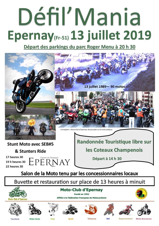 MANIFESTATION - Défil'Mania - 13 Juillet 2019 - Epernay (51) 5d1b1d10