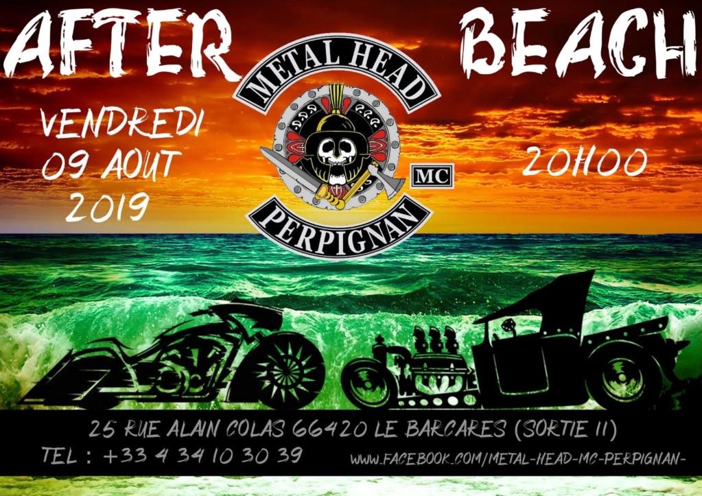 MANIFESTATION - AFTER BEACH - Vendredi 9 AOUT 2019 - Le Barcares (66420) 5d387810