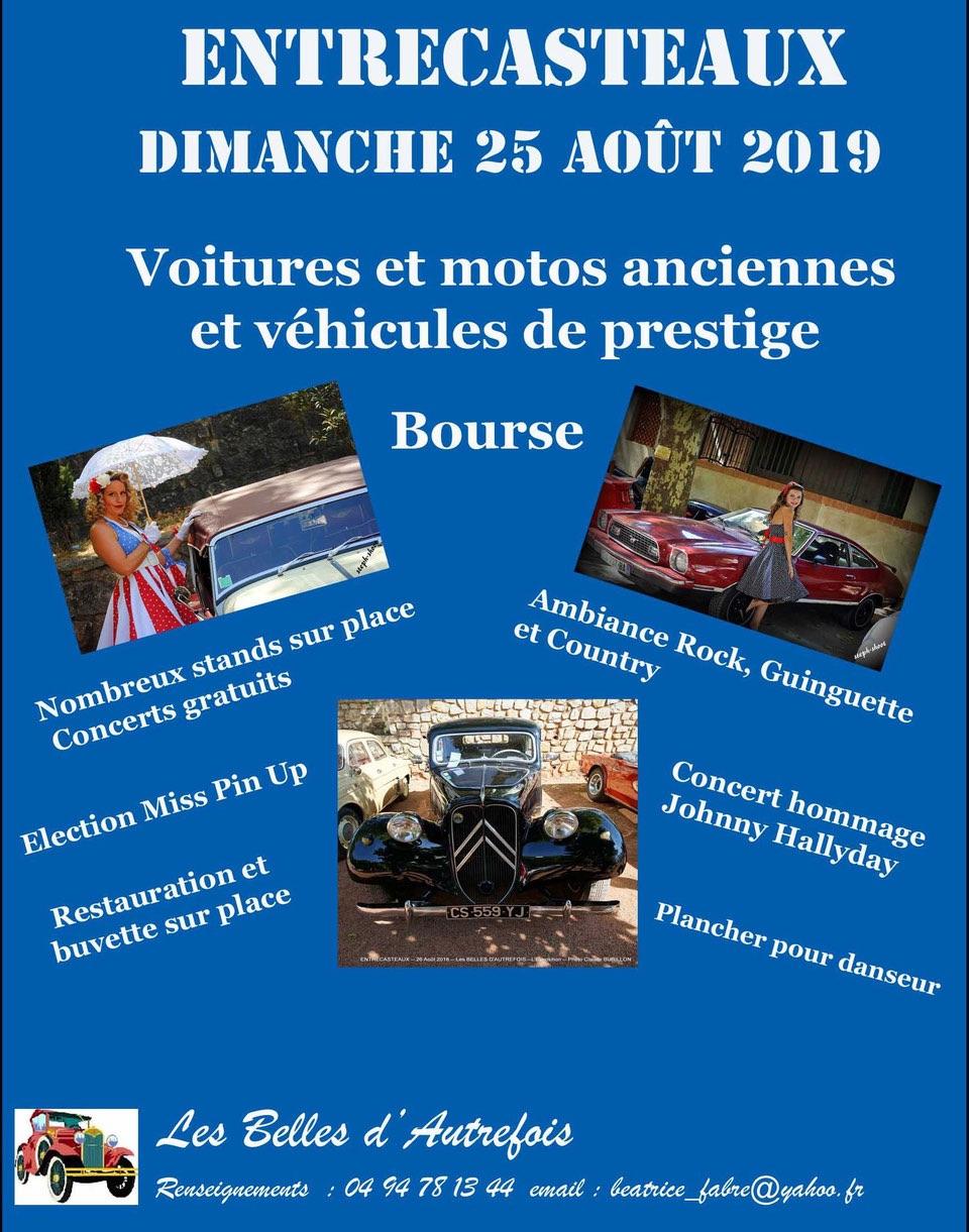 MANIFESTATION - Véhicules de Prestige  - Bourse - 25 AOUT 2019 - Entrecasteaux 5d430310
