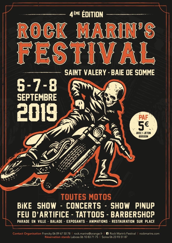 MANIFESTATION - Rock Marin's Festival - 6 - 7  - 8 Septembre 2019 - Saint Valéry - Baie de Somme  5d519610