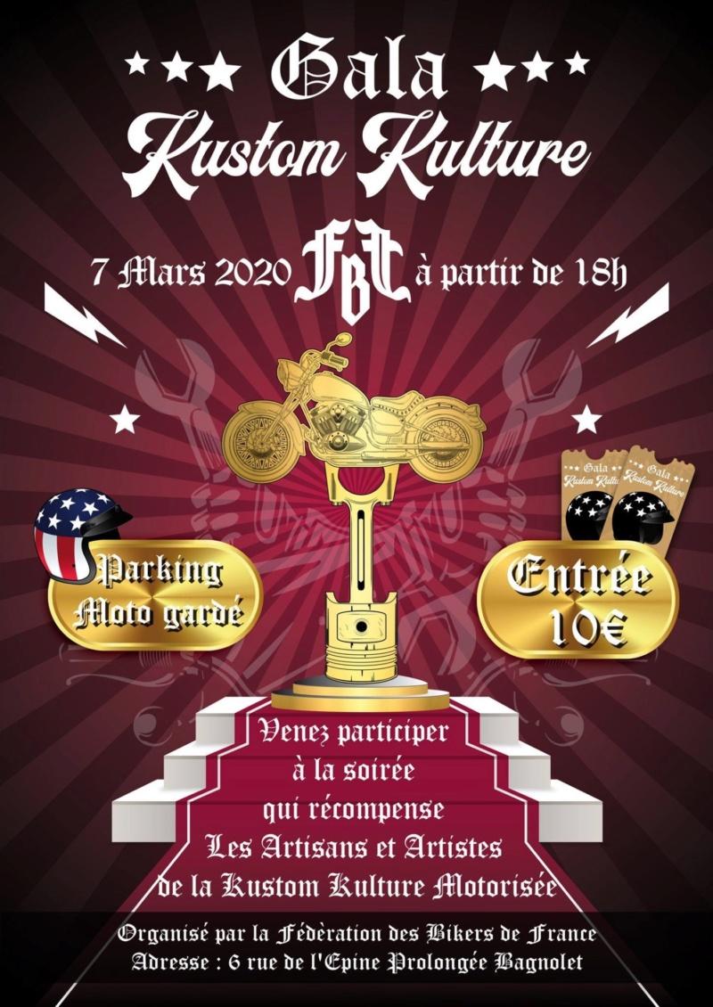 MANIFESTATION - Gala Kustom Kulture - 7 Mars 2020 - Bagnolet (93) 5d53d610
