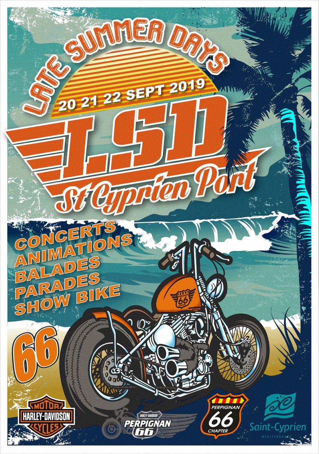 MANIFESTATION - Late Summer Days - 20-21-22 Septembre 2019 - Saint - Cyprien (66)  5d540b10