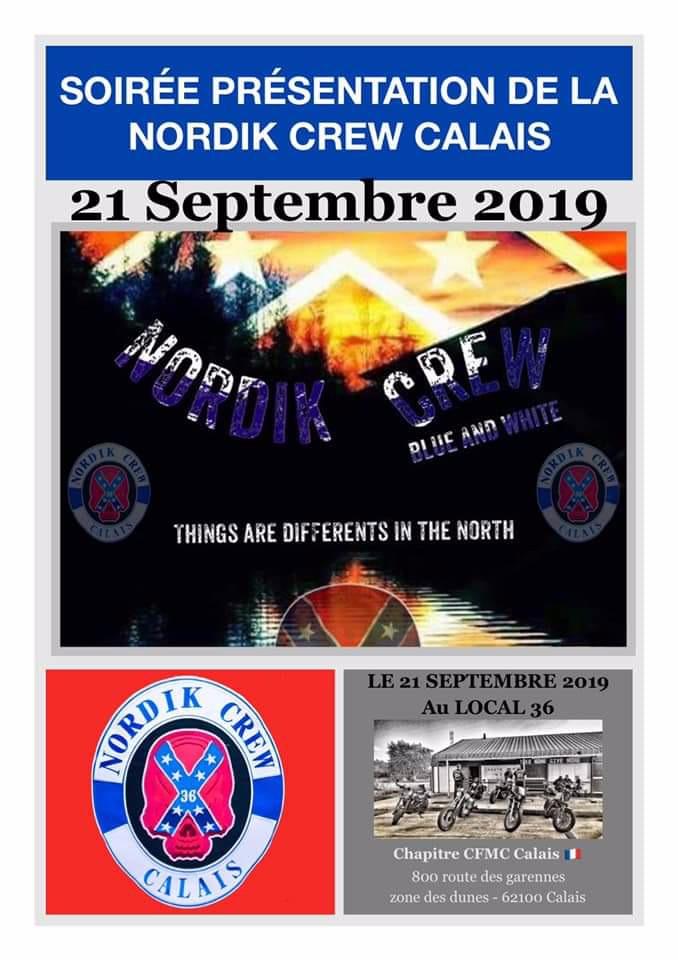 MANIFESTATION - Soirée Présentation Nordik Crew Calais - 21 Septembre - Calais (62) 5d7bad10