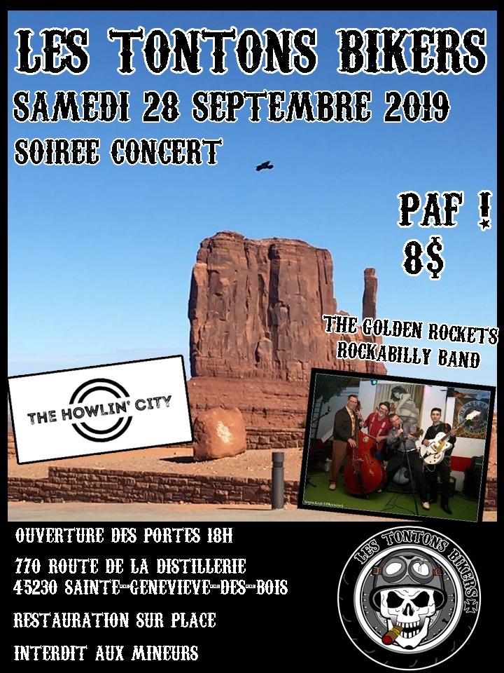 MANIFESTATION - Soirée Concert - Samedi 28 Septembre 2019 - Sainte-Genevieve-Des-Bois - (45230) 5d8a1b10
