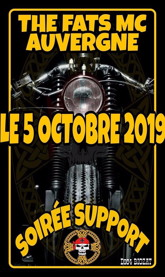 MANIFESTATION - The Fats MC Auvergne - 5 Octobre 2019 - Biozat  5d8e3e10