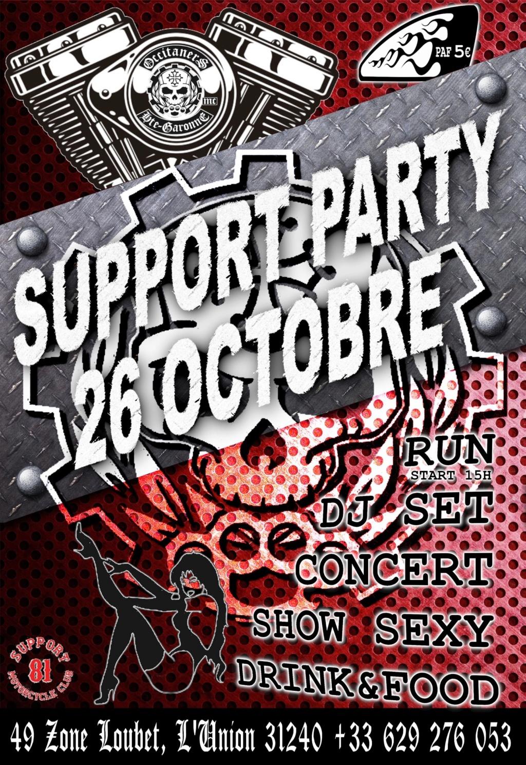MANIFESTATION - Support Party - 26 Octobre 2019 - L'Union (31240) 5d9a0910